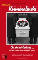 Herbert Knorr: Oh, du mörderische ... ★★★★★