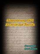 Barni Bigman: Auswanderung 1874