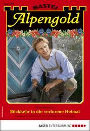 Alpengold 309 - Heimatroman - Rückkehr in die verlorene Heimat