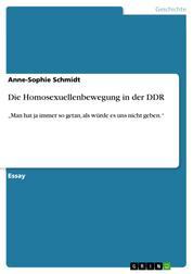 """Die Homosexuellenbewegung in der DDR - """"Man hat ja immer so getan, als würde es uns nicht geben."""""""