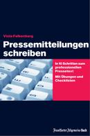 Viola Falkenberg: Pressemitteilungen schreiben