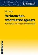 Rita Beck: Verbraucherinformationsgesetz