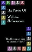 William Shakespeare: The Poetry of Shakespeare ★★