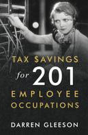 Darren Gleeson: Tax Savings for 201 Employee Occupations