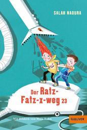 Der Ratz-Fatz-x-weg 23 - Roman für Kinder. Mit Bildern von Maja Bohn