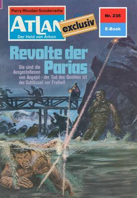 Atlan 235: Revolte der Parias