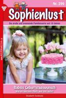 Elisabeth Swoboda: Sophienlust 299 – Familienroman ★★★★★