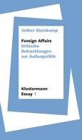 Volker Steinkamp: Foreign Affairs