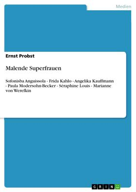 Malende Superfrauen