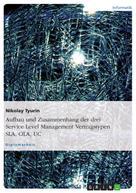 Nikolay Tyurin: Aufbau und Zusammenhang der drei Service Level Management Vertragstypen SLA, OLA, UC