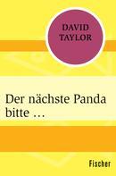 David Taylor: Der nächste Panda bitte … ★★★★