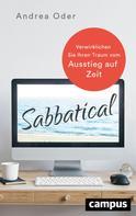 Andrea Oder: Sabbatical