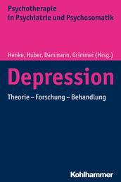Depression - Psychoanalytische Theorie - Forschung - Behandlung