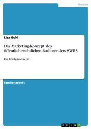 Das Marketing-Konzept des öffentlich-rechtlichen Radiosenders SWR3 - Ein Erfolgskonzept?