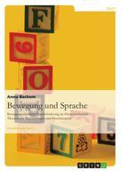 Anna Bachem: Bewegung und Sprache