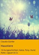 Claudia Gürtler: Haustiere