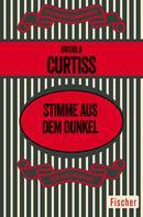 Ursula Curtiss: Stimme aus dem Dunkel ★★★★