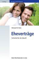 Michael W. Klein: Eheverträge