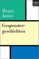 Henry James: Gespenstergeschichten ★★★★