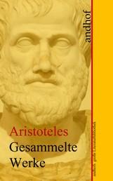 Aristoteles: Gesammelte Werke - Andhofs große Literaturbibliothek