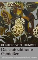 Günter von Hummel: Das autochthone Genießen