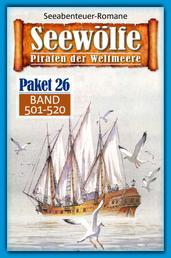Seewölfe Paket 26 - Seewölfe - Piraten der Weltmeere, Band 501 bis 520