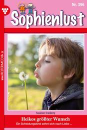 Sophienlust 396 – Familienroman - Heikos größter Wunsch