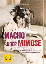Macho oder Mimose - So erkennen Sie die Persönlichkeit Ihres Hundes und schaffen eine innige Bindung