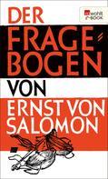 Ernst von Salomon: Der Fragebogen ★★★★