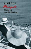 Georges Simenon: Maigret macht Ferien ★★★★★