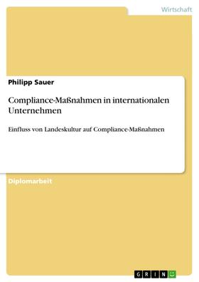 Compliance-Maßnahmen in internationalen Unternehmen