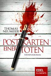 Postkarten einer Toten - Kriminalroman