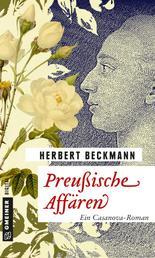 Preußische Affären - Ein Casanova-Roman