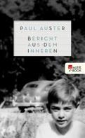 Paul Auster: Bericht aus dem Inneren ★★