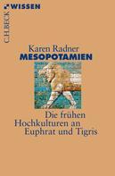 Karen Radner: Mesopotamien ★★★★