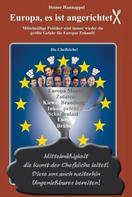 Heiner Hannappel: Europa, es ist angerichtet!