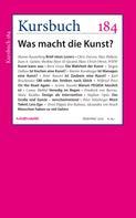 Armin Nassehi: Kursbuch 184