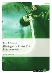 Flüssiggas als Kraftstoff für Fahrzeugantriebe
