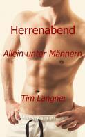 Tim Langner: Herrenabend: Allein unter Männern ★★★