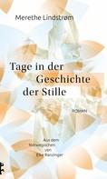 Merethe Lindstrøm: Tage in der Geschichte der Stille ★★★★★