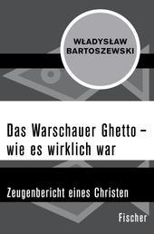 Das Warschauer Ghetto – wie es wirklich war - Zeugenbericht eines Christen