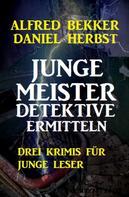 Alfred Bekker: Junge Meisterdetektive ermitteln