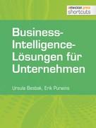 Erik Purwins: Business-Intelligence-Lösungen für Unternehmen