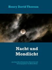 Nacht und Mondlicht