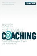 Astrid Schreyögg: Coaching ★★★★