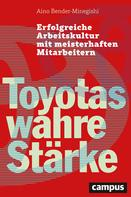 Aino Bender-Minegishi: Toyotas wahre Stärke