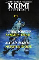 Alfred Bekker: Krimi Doppelband #19