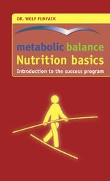 metabolic balance® – Nutrition basics - Introduction to the success program
