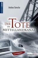 Andrea Gerecke: Der Tote im Mittellandkanal ★★★