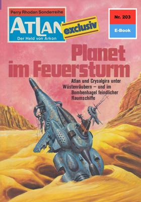 Atlan 203: Planet im Feuersturm